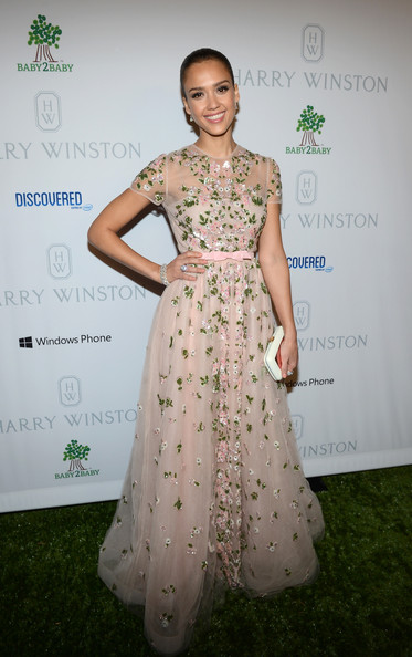 Pretty Valentino for the Baby2Baby Gala