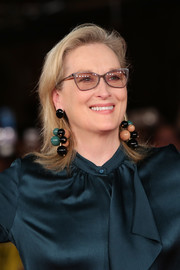 Meryl Streep wore her hair with flippy ends at the Rome Film Festival screening of 'Florence Foster Jenkins.'