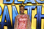 Florence Kasumba Sheer Dress