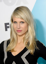 Lucy Punch's long straight cut with bangs at the Fox 2012 Programming Presentation gave her a youthful aura.