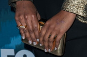 Mindy Kaling opted for a neutral mani when she attended the Fox All-Star Party.