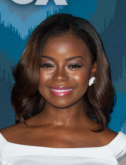 Erica Tazel sported a perfectly styled wavy 'do at the Fox All-Star party.