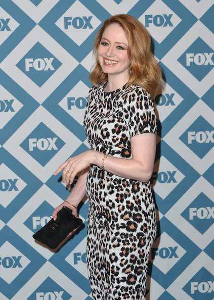 More Pics of Miranda Otto Medium Wavy Cut (6 of 11) - Miranda Otto Lookbook - StyleBistro [miranda otto,fox all-star party - arrivals,clothing,dress,fashion,premiere,carpet,black-and-white,neck,long hair,pattern,brown hair,fox all-star party,pasadena,california,langham hotel]