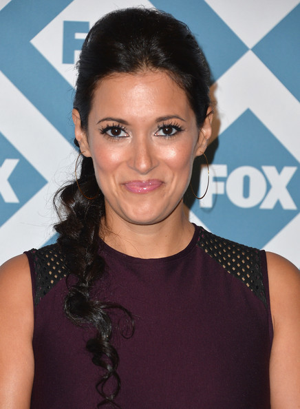 Angelique Cabral was simply adorable with her long braided hairstyle at the Fox All-Star party.
