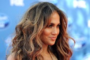 Singer/actress Jennifer Lopez arrives at Fox's
