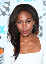 Nicole Beharie looked fab with her high-volume, side-swept hairstyle at the Fox Summer TCA All-Star Party.