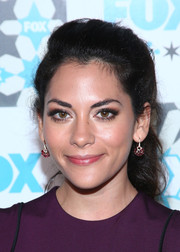Inbar Lavi opted for a casual ponytail when she attended the Fox Summer TCA All-Star Party.