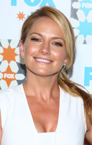 Becki Newton kept it easy-breezy with this ponytail at the Fox Summer TCA All-Star Party.