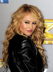 Paulina Rubio looked oh-so-sexy with her long, lush curls at the 'X Factor' season finale.