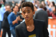 Jaden Smith attended the 2012 Toronto International Film Festival wearing his hair in a hightop fade.