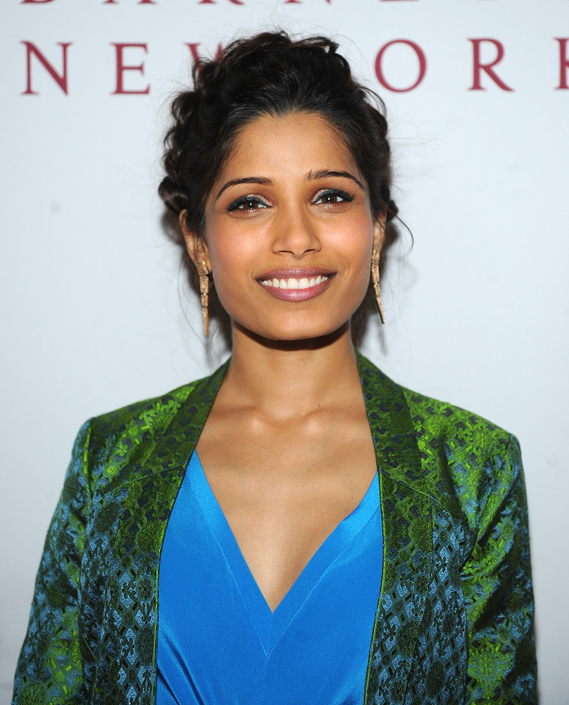 Freida Pinto Braided U...