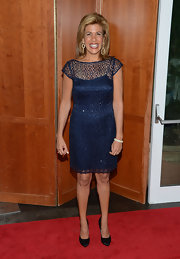 Hoda Kotb was radiant in a blue lace dress at The Fresh Air Funds Salute to American Heroes.