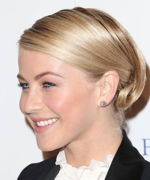More Pics of Julianne Hough French Twist (5 of 12) - French Twist Lookbook - StyleBistro