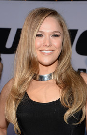 Ronda Rousey showed off a sweet wavy 'do at the 'Furious 7' LA premiere.