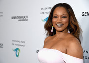 Garcelle Beauvais was boho-glam at the Generation Wealth event with her long center-parted waves.