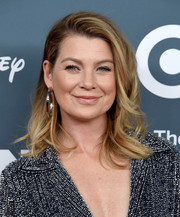 Ellen Pompeo looked stylish with her flippy waves at the GLSEN Respect Awards.
