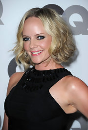 Marley Shelton showed off her medium curls while attending the Men of the Year party. It was the perfect way to add some spice to her bob.