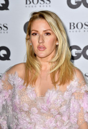 Ellie Goulding sported a side-parted layered cut at the GQ Men of the Year Awards.