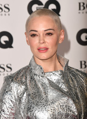 Rose McGowan hit the 2018 GQ Men of the Year Awards wearing her signature buzzcut.
