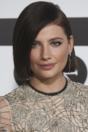 Miriam Giovanelli sported a stylish sleek bob at the GQ Men of the Year Awards.