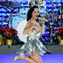 Katy Perry Lookbook: Katy Perry wearing Fascinator (3 of 51). Katy Perry wore a festive fascinator to match her silver dress at the Grammy nominations concert.