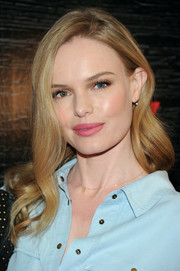 Kate Bosworth wore her hair loose with ultra-girly waves during the Guess New York Fashion Week celebration.