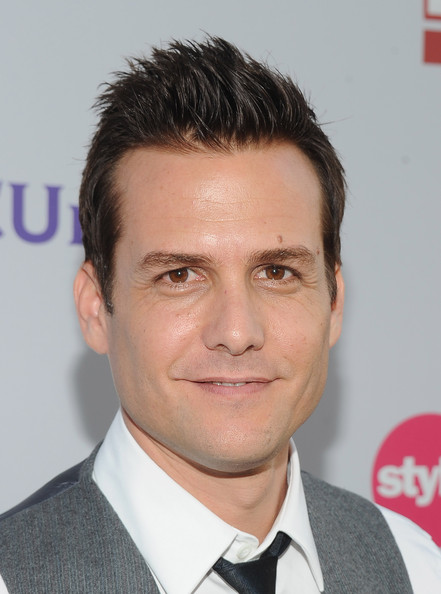 Gabriel Macht Spiked Hair