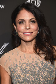 Bethenny Frankel looked demure and feminine with her high-volume waves at the Angel Ball.