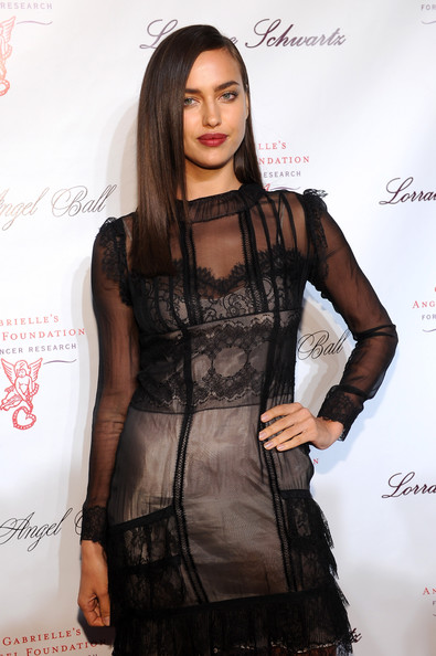 More Pics of Irina Shayk Long Straight Cut (1 of 3) - Long Straight Cut Lookbook - StyleBistro