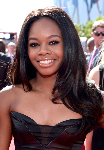 Gabrielle Douglas Layered Cut