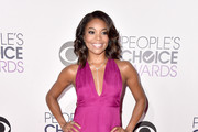 Gabrielle Union Halter Dress