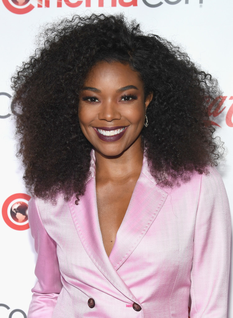 Gabrielle Union Afro Long Hairstyles Lookbook Stylebistro