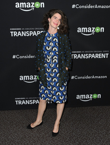Gaby Hoffmann Print Dress