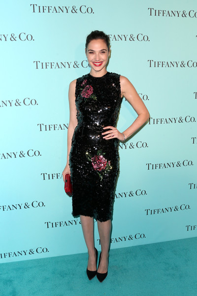 Gal Gadot Sequin Dress