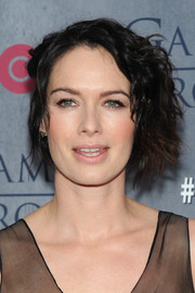 Lena Headey topped off her look with rocker-chic waves when she attended the 'Game of Thrones' season 4 premiere.