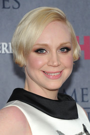Gwendoline Christie looked cute with her short side-parted 'do at the 'Game of Thrones' season 4 premiere.