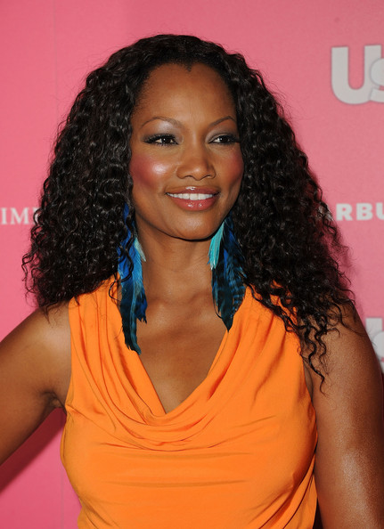 Garcelle Beauvais Feathered Earring