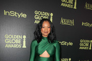 Garcelle Beauvais Satin Clutch