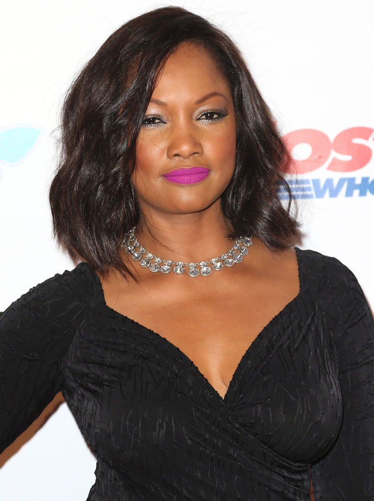 Garcelle Beauvais Medium Wavy Cut Shoulder Length