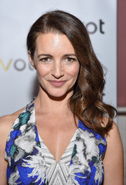 Kristin Davis looked sweet wearing this wavy side sweep at the 'Gardeners of Eden' special screening.