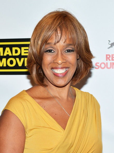 Gayle King Bob [we made this movie,hair,face,hairstyle,blond,chin,shoulder,yellow,layered hair,joint,hair coloring,gayle king,new york city,school of visual arts theater,world premiere]