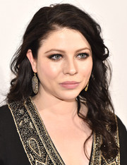 Michelle Trachtenberg looked lovely with her flowing curls at the Tribeca Film Fest premiere of 'Geezer.'