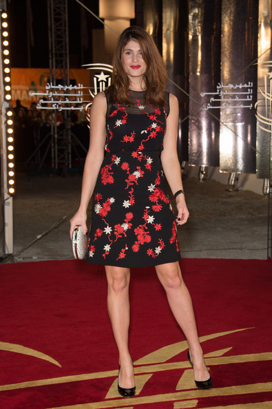 Gemma Arterton Cocktail Dress