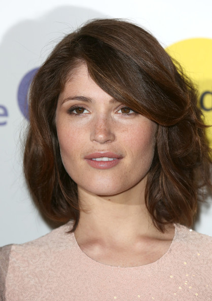 Gemma Arterton Bob [the voices,hair,face,hairstyle,eyebrow,chin,brown hair,layered hair,lip,blond,long hair,gemma arterton,london,england,arena,screening,voices screening - sundance london film and music festival,sundance london film and music festival]