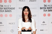 Gemma Chan Hard Case Clutch