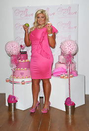Gemma Collins looked great wearing Essex, one of the wrap dresses from her very own plus-size clothing line.