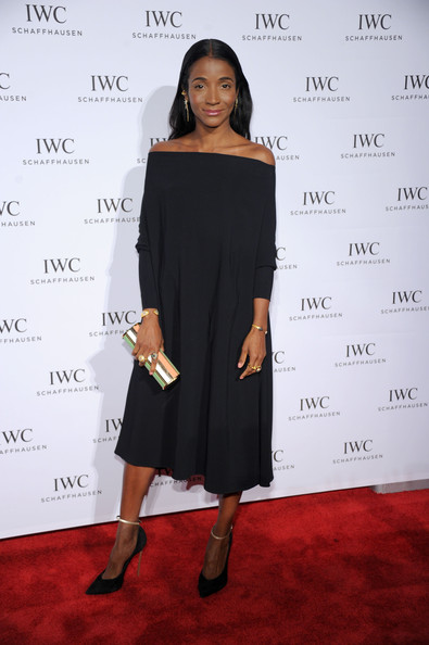 Genevieve Jones Off-the-Shoulder Dress