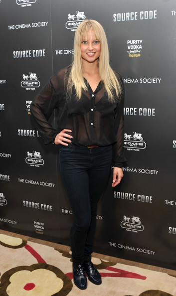 Genevieve Morton Brogues [source code,clothing,leggings,footwear,jeans,joint,shoe,outerwear,leather,tights,trousers,arrivals,genevieve morton,coach,screeing,crosby street hotel,new york city,cinema society coach,host a screening]