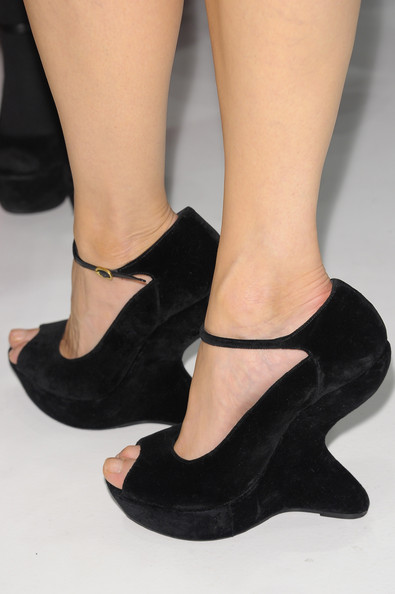 Georgina Chapman Wedges