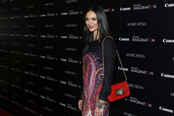 Georgina Chapman Chain Strap Bag